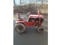 Wheel horse tractor with full hydraulics and 3point linkage