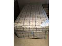 Single bed with stowaway guest bed
