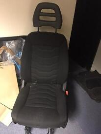 Iveco daily front single drivers seat