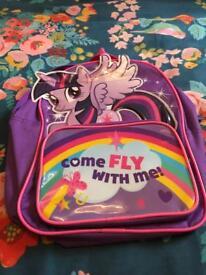 My little pony bag