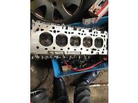 Ford focus st engine head