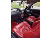 Alfa Romeo 147 1.6 TSPARK RED LEATHER SEATS