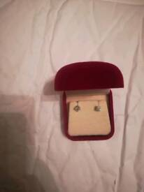 1.17 carat Diamonds studs