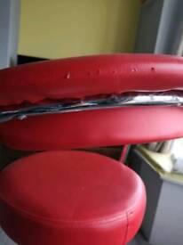 One bar stool