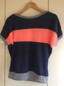Super dry small short-sleeved top