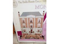 DOLLS HOUSE STILL IN BOXES