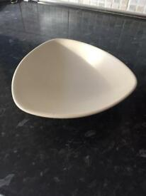 Beige bowl
