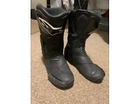 Alpinestars Motorbike Boots - size 9