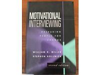 Motivational interviewing, preparing people for change, William Miller, Stephen Rollnick