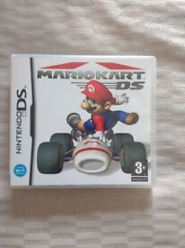 Nintendo DS Mario Kart game