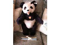 Steiff Panda Bear Replica 1951 very rare.
