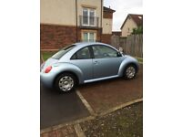 Volkswagen Beetle 1.6 only 79000 miles MOT May 2017, polo, corsa, Clio punto, astra mini