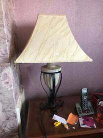 Bedside table lamp | in South Shields