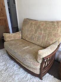 Ercol Renaissance two seater sofa.