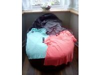 Summer tops some new. Size 10/12. All for £2.00