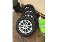 Ford mondeo alloys with tyres