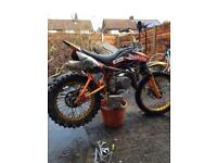125 pitbike swaps or sell make offer