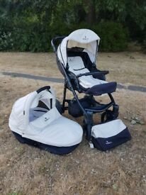 venicci pram and push chair Travel System with accessories