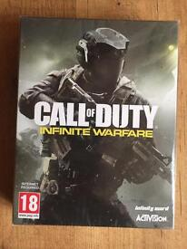 Brand New PS4 - Call of Duty Infinite Warfare w/ extra content and pin badges