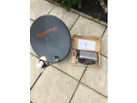 Caravan Satellite dish and decoder
