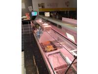2.5m long serve over Display Fridge Commercial catering restaurant cafe shop