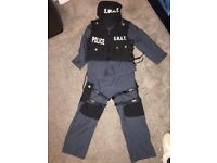 SWAT dress up outfit age 7-8