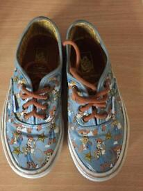 toy story (woody) vans size 10