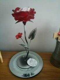 Lovely rose candle holder