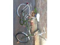 Classic / Retro Raleigh Stowaway folding Bike