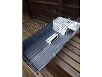 Large Indoor Hutch - AS NEW condition - Rabbit or Guinea Pigs