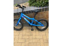 MX16 Ridgeway Kids Bike Blue - Excellent condition