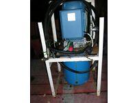 Single phase (240v) hydraulic power pack.