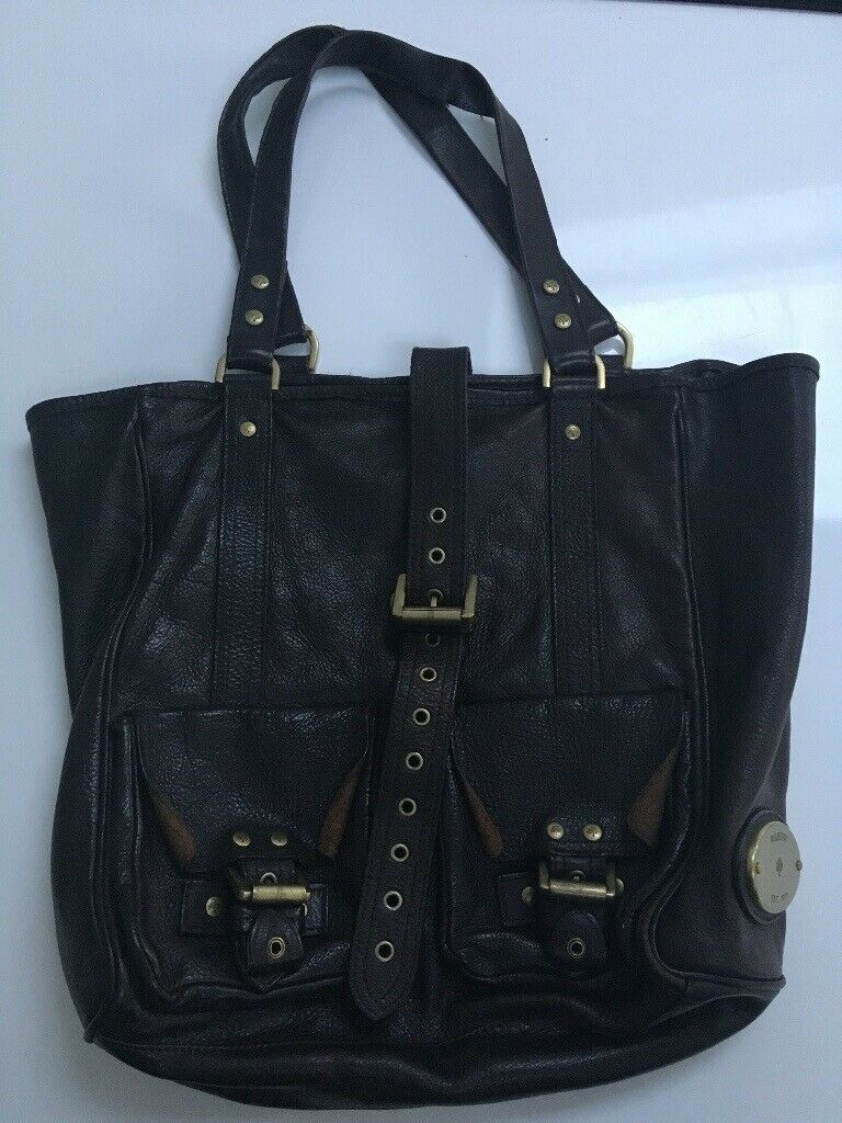 0c925b88c99 Mulberry Dark Brown Roxanne Leather Tote Bag | in Bournemouth ...