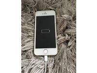 iPhone 5s, silver.