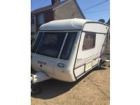 2 berth caravan good condition ready to go gas and electrics untested