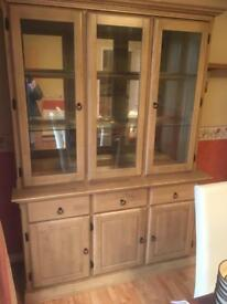 Solid wood welch dresser