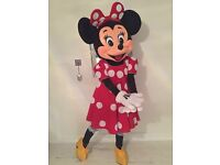 Minnie and Mickey Mouse mascots available for party hire