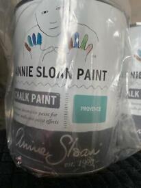 3 Tins Of Annie Sloan Chalk Paint (Unopened)