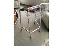 Lightweight Walking Frame with a handy carry basket - as new.