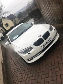 BMW 3 series 2010 white