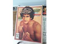 Boxing magazines