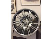 E46 M3 Rear Alloy wheel