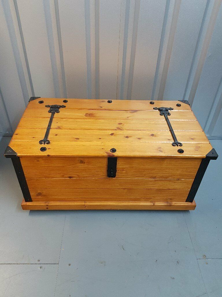 Handmade Wooden Trunk Toy Box Blanket Box Multi Purpose Storage Chest In Ipswich Suffolk Gumtree