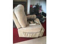 Sherborne Keswick rise tilt and recline electric chair.