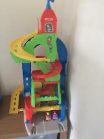 Fisher price big garage