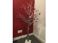 White Tree with Baubles