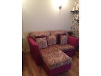 Bespoke Lounge Three Piece Suite/ settee/ chair/ stool