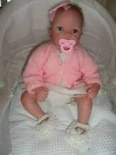 Reborn doll LOVELY Child friendly baby girl 22 inches 4 lbs Johnsonville East Gippsland Preview