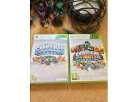 SKYLANDERS GAMES AND FIGURES XBOX 360