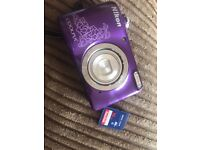 Camera and memory card coolpix